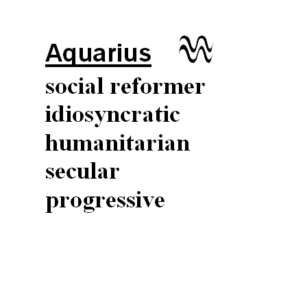 Benefits of Aquarius