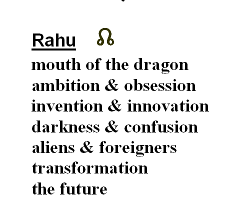 Benefits of Rahu