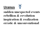 Benefits of Uranus